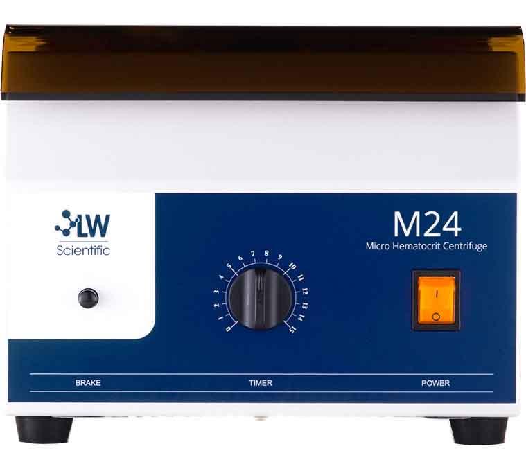 M24, Hematocrit Centrifuge
